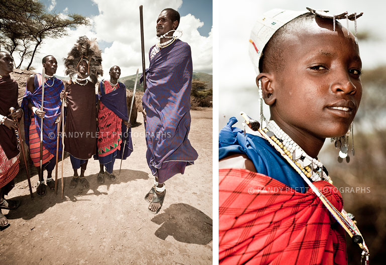African Tribal Women Masai tribal culture in east